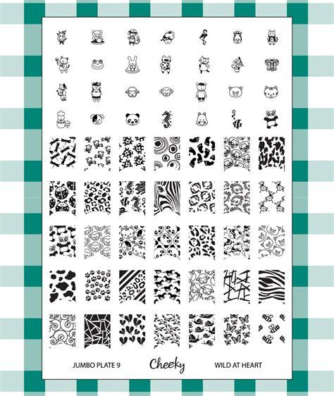 Exlusive Songkok Jumbo Size 10 16 spellbinding nails new plate news from cheeky