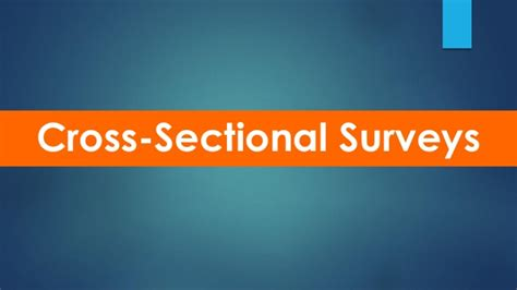 cross sectional surveys introduction to healthcare research methods correlational