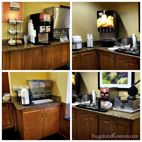friendly staff and free breakfast at the comfort inn on