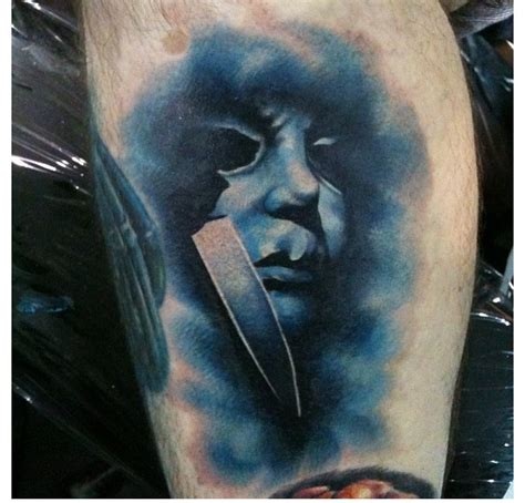 michael myers tattoo designs michael myers done by tom of