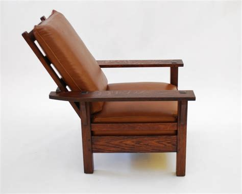 stickley morris chair recliner l and jg stickley morris chair c 1915 arts and crafts