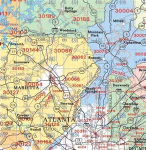 Kennesaw Zip Code Map by Contact Us