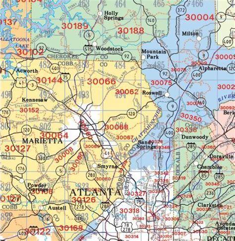 zip code map of atlanta kennesaw ga map my blog