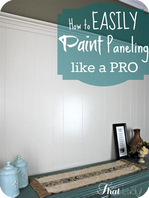 how to paint wood panel paint over wood paneling