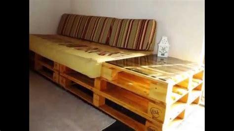 sofa palete casa com pallet como fazer m 243 veis com paletes youtube