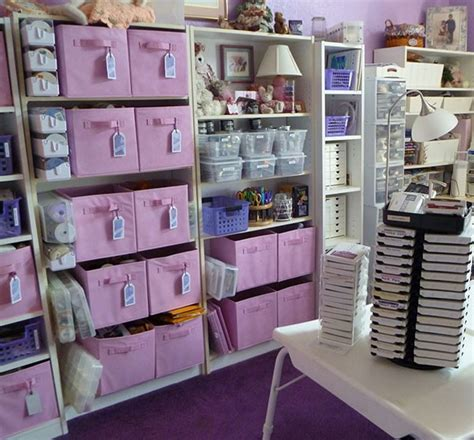 purple room crafts organized craft room studio design gallery best design