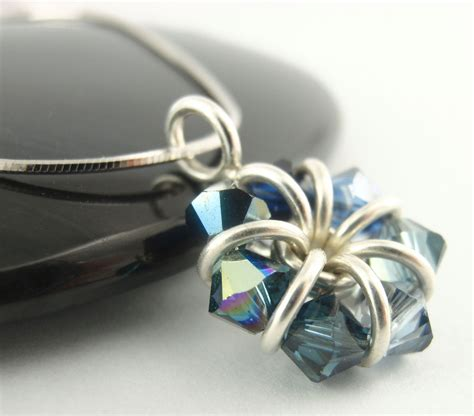 Collar Medley sterling silver eternity necklace a medley of sapphire