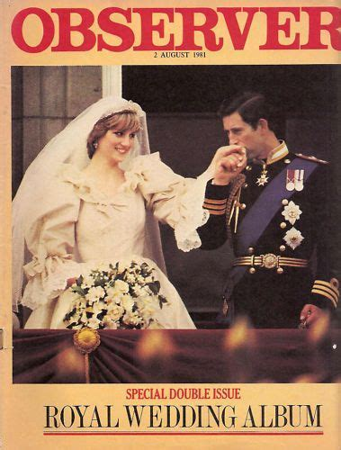 Royal Wedding   Princess Diana & Prince Charles   Magazine