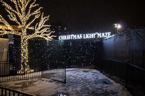 vancouver light maze enchant light maze in vancouver foodology
