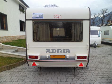 roulotte 6 posti letto usate vendita caravan adria roulotte adria 457 tk 6 posti letto