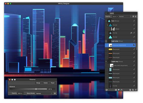 design software affinity designer professional graphic design software