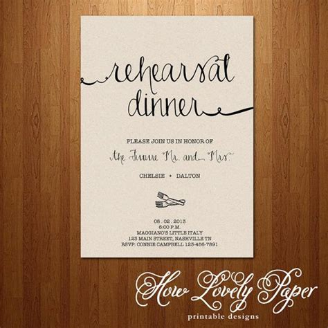 printable wedding rehearsal invitations printable rehearsal dinner invitation the jane collection