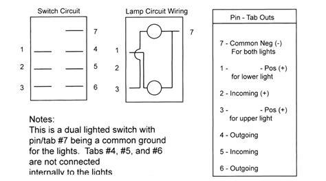 winch rocker switch wiring diagram utv rocker switch