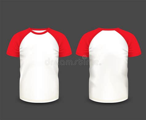 s raglan t shirt in front and back views vector template fully editable handmade mesh
