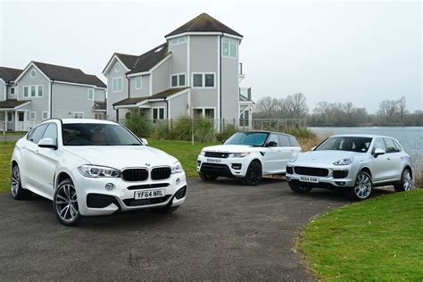 land rover bmw bmw x6 vs range rover sport and porsche cayenne auto express