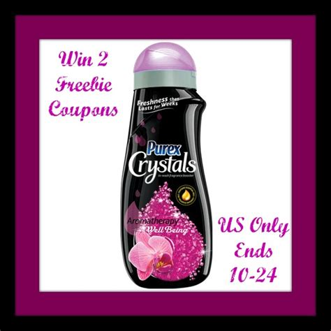 Purex Giveaway - purex crystals aromatherapy giveaway