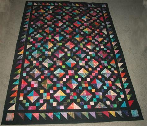 Colour Batik Cutoff simple batik quilt patterns baby quilt