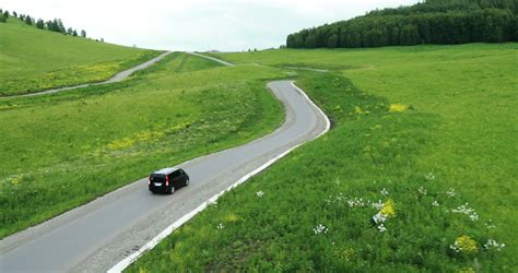 The Road To Beyatch Land Is And Winding 2 by Winding Road Stock Footage