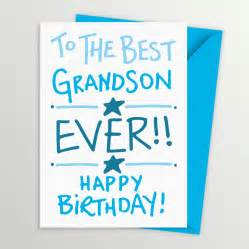 grandson birthday card by a is for alphabet notonthehighstreet
