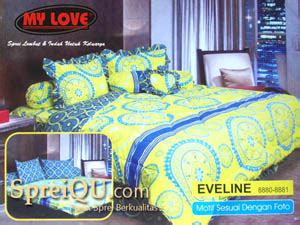 Sprei My King Sprei My Eveline King 180x200