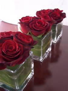 centerpieces with roses s day decorations