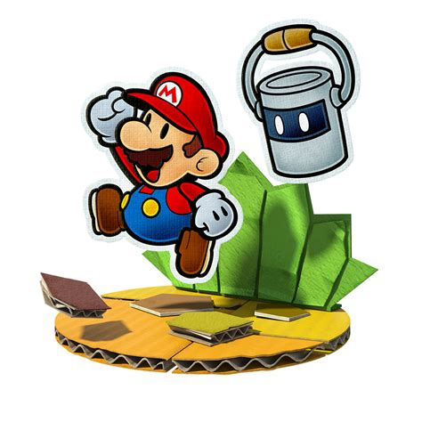 mario colors e3 2016 paper mario color splash official artwork