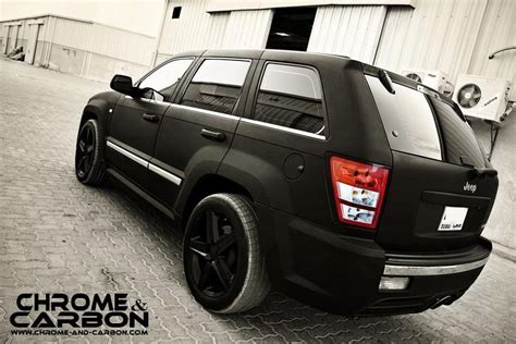 jeep srt matte black matte black jeep grand srt8 srt racing