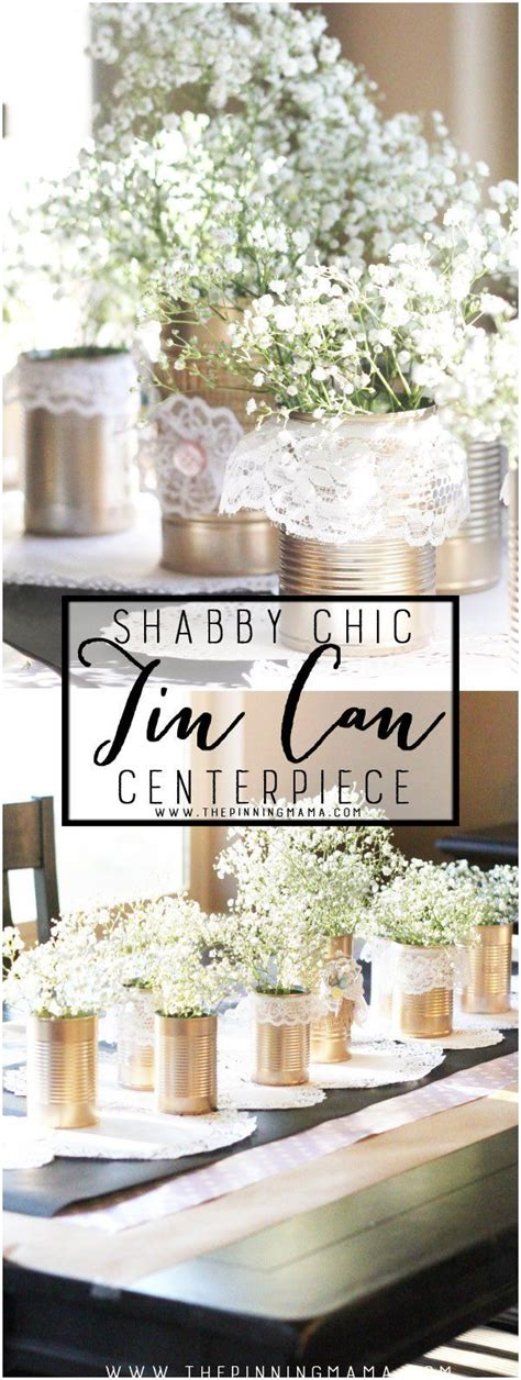 Shabby Chic Baby Shower Centerpieces by Best 25 Cheap Baby Shower Decorations Ideas On