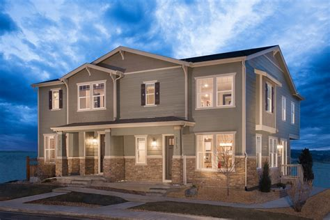 spruce new home floor plan in the villas at copperleaf