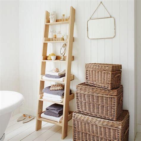 ladder for bathroom oak shelf ladder bv bathroom pinterest
