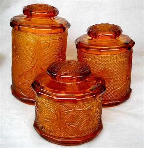vintage glass canisters kitchen 503 best images about inwald glass and indiana glass on depression vase and