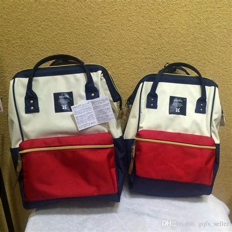 Anello Handbag Original 1 anello backpack bag original backpacks rucksack canvas school bag travel children bag mummy
