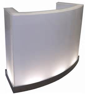 ghost podium desk design x mfg salon equipment salon - Podium Desk