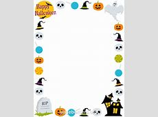Printable Happy Halloween border. Use the border in ... About:blank Free Halloween Clipart