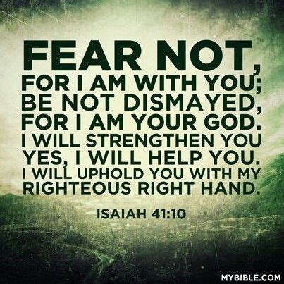 i will not fear my story of a lifetime of building faith books isaiah 41 10 quotes for days d god trust