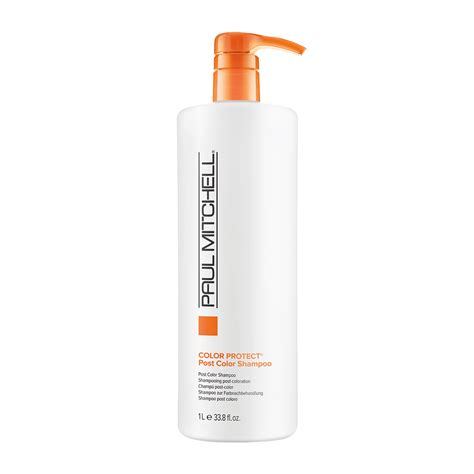 protection from color color protect post color shoo paul mitchell