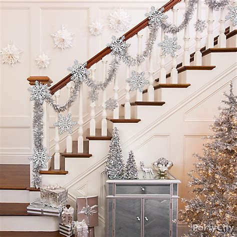 stairway decorating ideas shimmering stairway decorating idea city