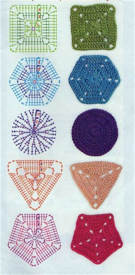 knitting a circle shape basic geometric shapes in crochet square hexagon circle