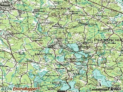 Pembroke Hospital Ma Detox by Hanson Massachusetts Ma 02341 Profile Population Maps
