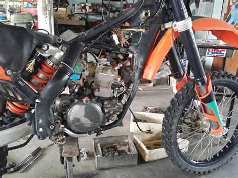 Ktm Engine Rebuild Ktm 300 2 Stroke Bottom End Engine Rebuild
