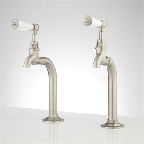 Kitchen Lever Handles Signature Hardware Rogers Kitchen Basin Faucet With