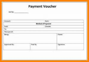 7 cash payment voucher format doc job resumed