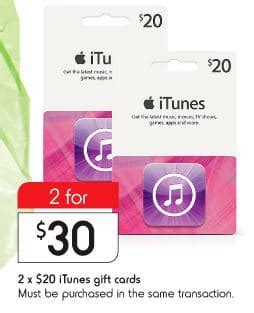 Google Play Gift Card Dollar General - expired 2 x 20 itunes gift cards for 30 at kmart save 25 gift cards on sale