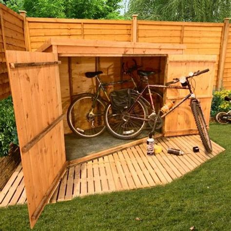 3 Bike Storage Shed by Buy Billyoh 300 3 X 6 Pent Tongue And Groove Bike Store