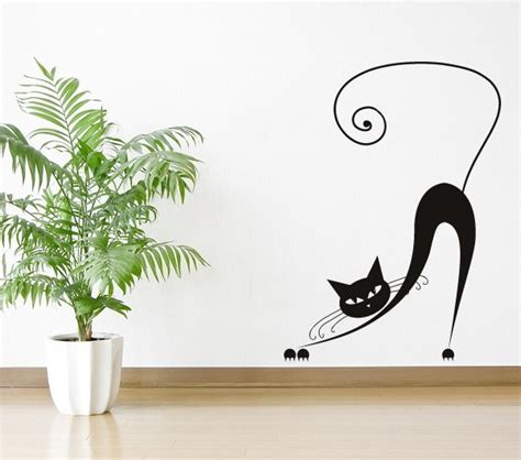 stickers with cats for home decor 60 ideas for every