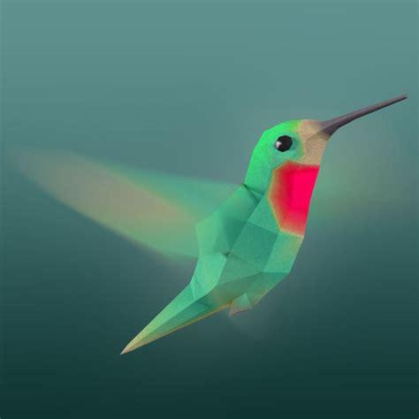 asset rigged  poly hummingbird cgtrader