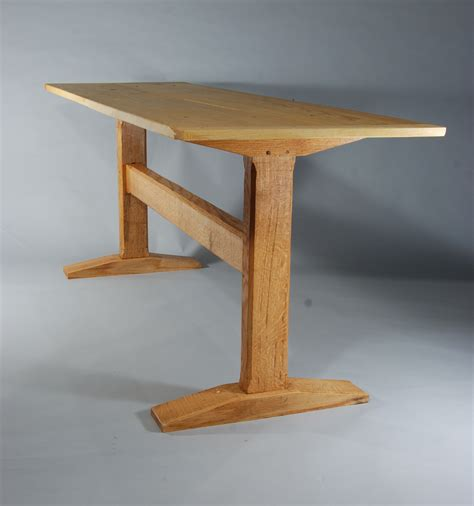 trestle table with bench wood trestle table plans easy pdf plans