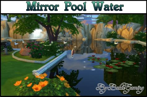 mirror pool water  bakie  mod  sims sims  updates