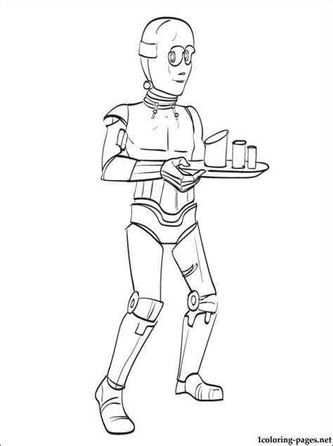 C 3po Coloring Pages by Wars C 3po Coloring Page Coloring Pages