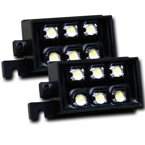 Led Bed Lights by Anzo Usa 531049 Led Bed Rail Auxiliary Light Ebay